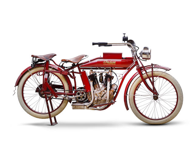 1914 Indian 7hp Big Twin Frame no. 7317 Engine no. 84F436