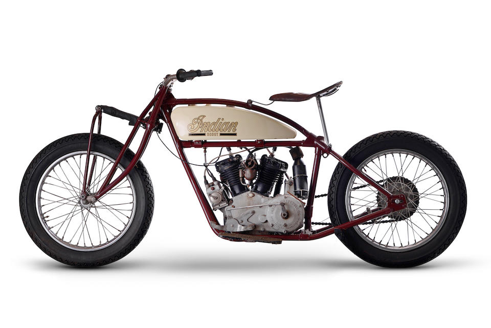c.1927 Indian 600cc Scout 'Wall of Death' Motorcycle