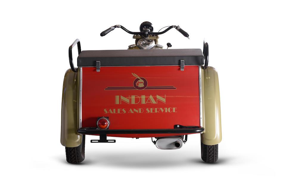 1939 Indian 45ci Dispatch Tow Trike Engine no. FCI 1080