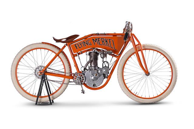 Bonhams   c.1911 Flying Merkel 498cc  Racing  Motorcycle Engine no ... 55ab722fa