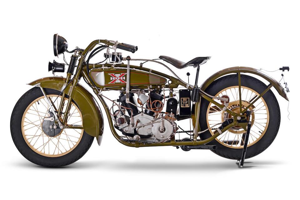 Excelsior 750 cm3 Super-X 1928  Frame no. I5132 Engine no. 4953 (voir texte)