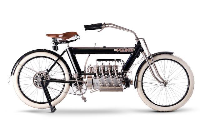 1910 Pierce 688cc Four Engine no. 1476