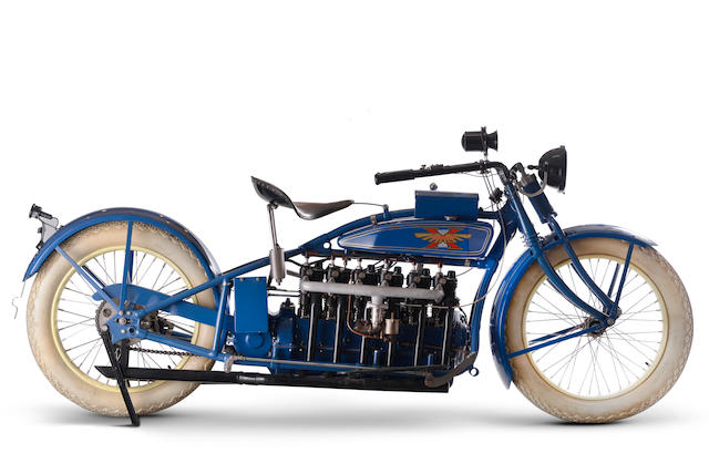 c.1924 Henderson 1,951cc Deluxe Six Engine no. 12087A