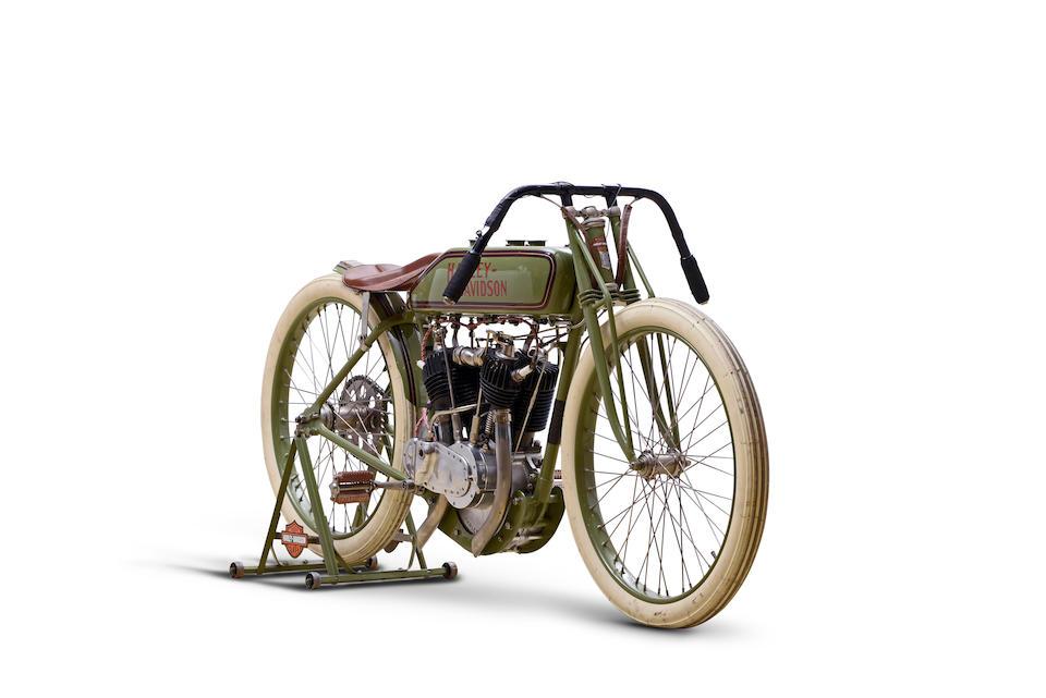 c.1920 Harley-Davidson 'Board Track' Racing Motorcycle Engine no. 20T18951