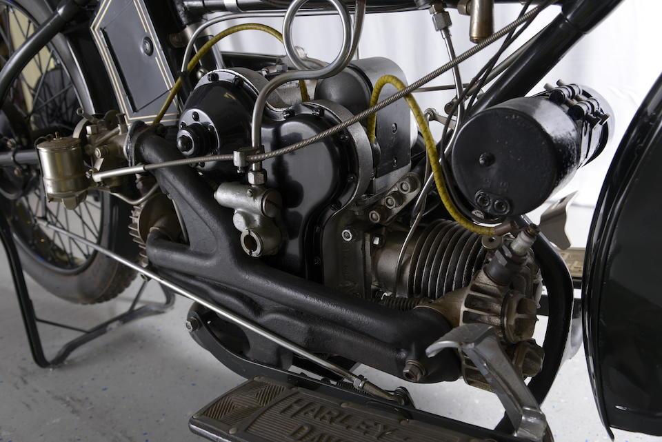c.1922 Harley-Davidson 584cc Model WJ Sport Frame no. 22130 Engine no. 22WF3515