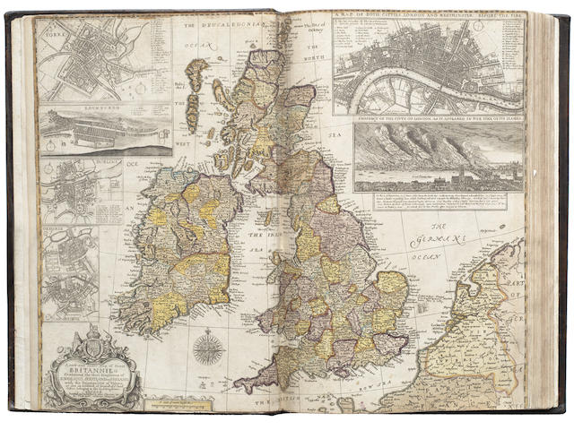 SPEED (JOHN) England Fully Described in a Compleat Sett of Mapps of Ye County's of England and Wales, with their Islands, Henry Overton, 1743