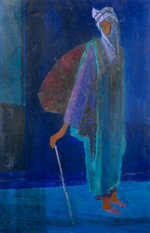 Yusuf Adebayo Cameron Grillo (Nigerian, born 1934) 'Hausa charms vendor'