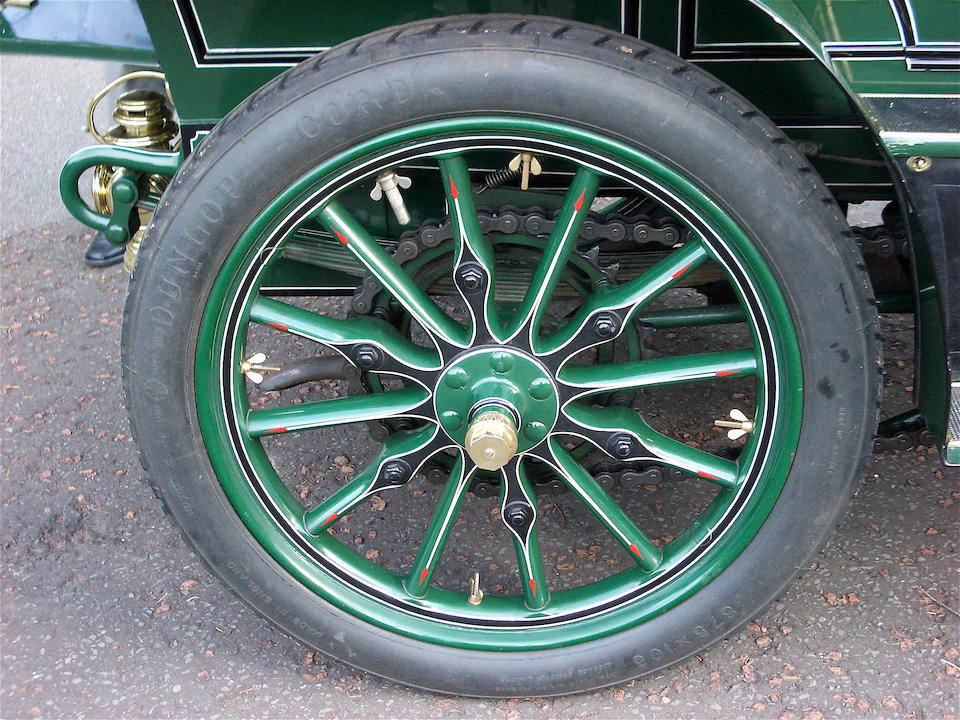 The ex-George Waterman and Kenneth Stein,1904 Napier Model D45 12hp Four-cylinder, Five-seater, Double Chain Drive, Side-entrance Tourer  Engine no. 49