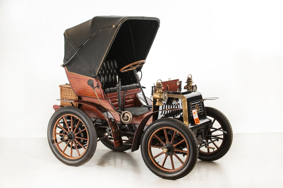 1899 Panhard-Levassor Type M2E 4hp Two-Seater  Chassis no. 1862 Engine no. 1862