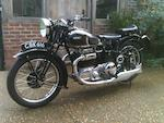 1940 Ariel 995cc Model 4G Square Four Frame no. AX847 Engine no. DH230