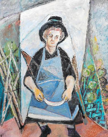 Maria Vorobieva (called Marevna) (Russian/French, 1892-1984) Peasant woman
