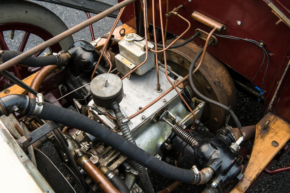 1904 Pope-Hartford 20hp Model D Two-Cylinder Side-Entrance Tonneau  Chassis no. 543 Engine no. 543