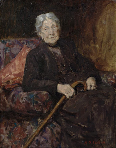 Maude Clayton (Stanhope) Forbes (British, died 1952) Portrait of Mrs Stanhope Forbes
