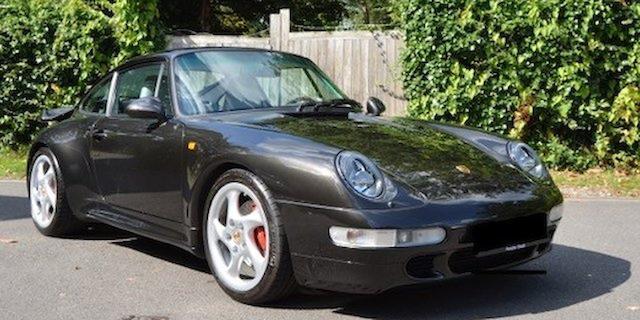 1996 Porsche 911 Type 993 Turbo Coupé X50  Chassis no. WP0ZZZ99ZTS371323 Engine no. 61T02471
