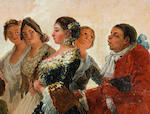 Circle of Francisco Jose de Goya y Lucientes (Fuendetodos  1746-1828 Bordeaux) La Boda