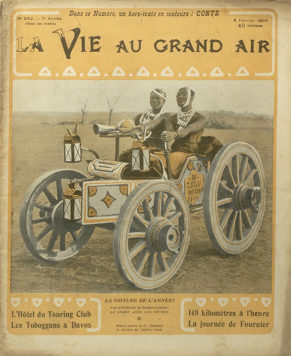 La Vie au Grand Air, 4th February 1904, ((2))
