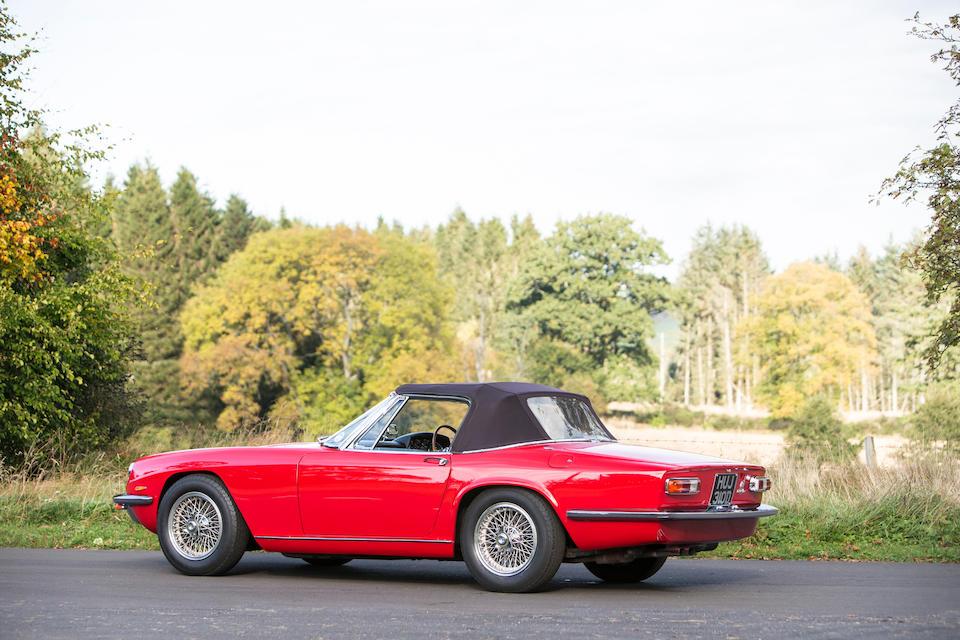 1966 Maserati Mistral 3.5-Litre Spyder
