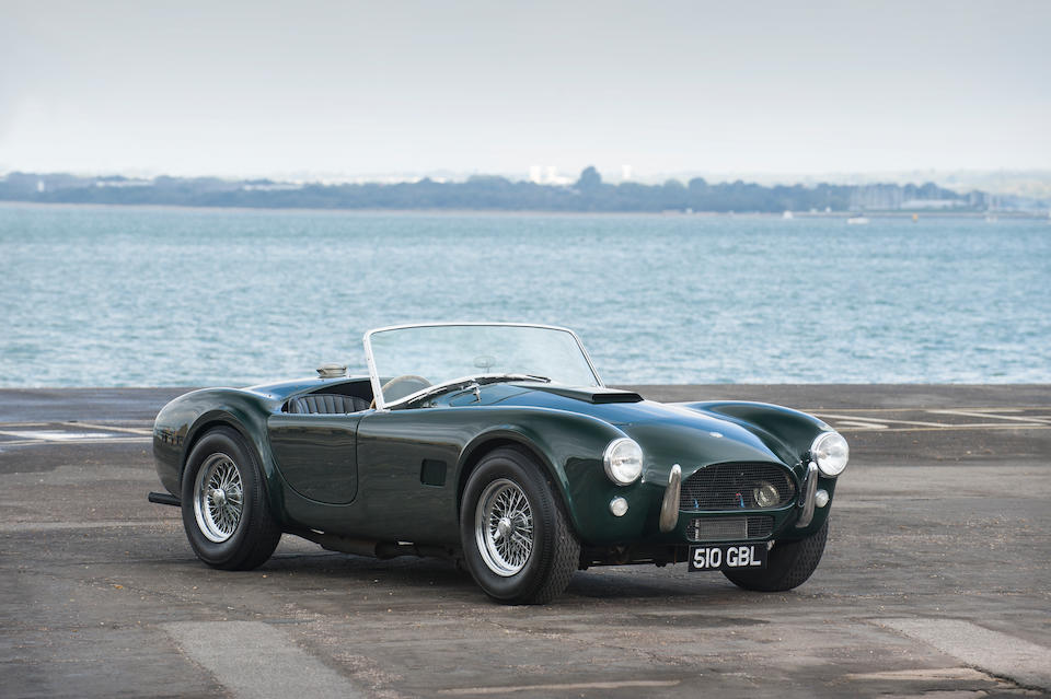 Bonhams : The first right-hand drive example,1962 AC Cobra