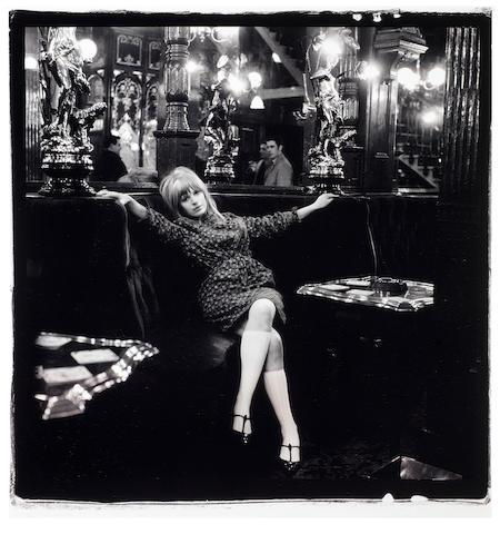 Marianne Faithfull: Gered Mankowitz (British B. 1946), 'Marianne Pub', gelatin silver print, 1964,