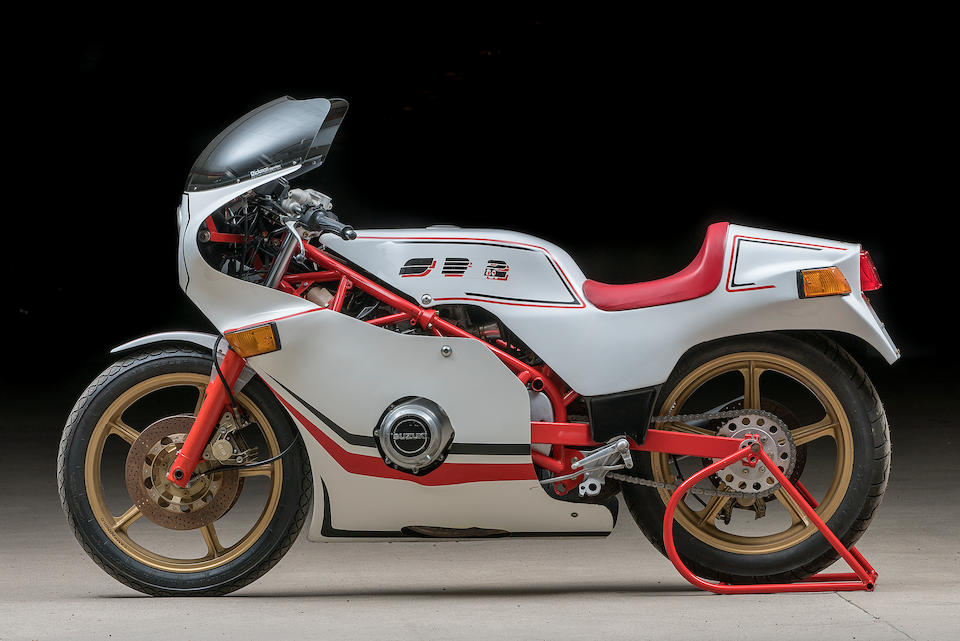 Bimota 860 cm3 SB2/80 1980  Frame no. « VICTOR » Engine no. GS750-50870