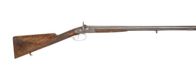 A Fine 14-bore D.B. Percussion Sporting Gun