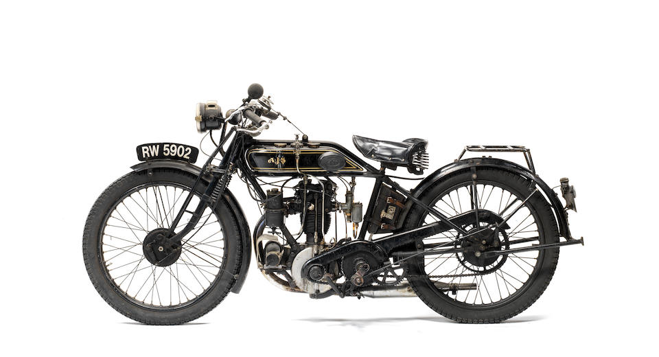 1926 AJS 350cc Model G6 'Big Port' Frame no. G49926 Engine no. G83098