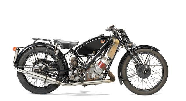 1934 Scott 498cc Flying Squirrel (see text) Frame no. 3793M Engine no. LFZ3951