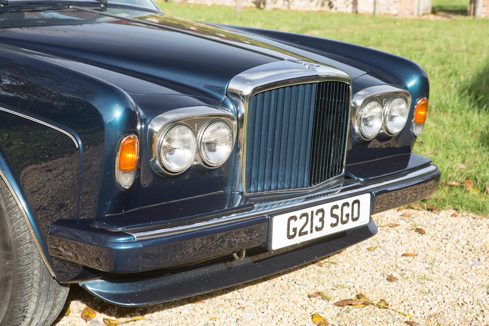1990 Bentley Continental Convertible  Chassis no. SCBZD00A1LCX30140 Engine no. 7069914/01