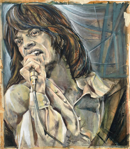 Mick Jagger: John Judkins original poster artwork for 'I was Lord Kitchener's Valet', 1969,