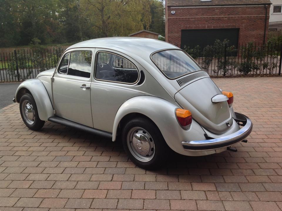 Only circa 63 miles from new,1978 Volkswagen 'Beetle' 1200L Saloon  Chassis no. 1182007364