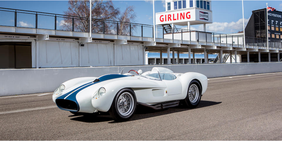 The DK Engineering-modified,1958-Style Ferrari 250 Testa Rossa Sports-Racing Two-Seater Based Upon 250 GT 'Ellena Coupe' Chassis
