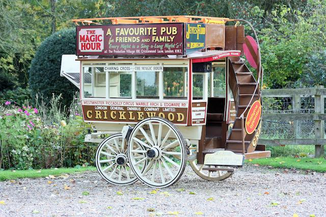 Garden Seat Horse Omnibus