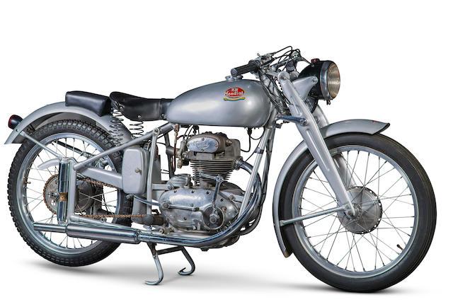 FB Mondial 125 cm3 Sport 1949  Frame no. 1136 Engine no. 1136