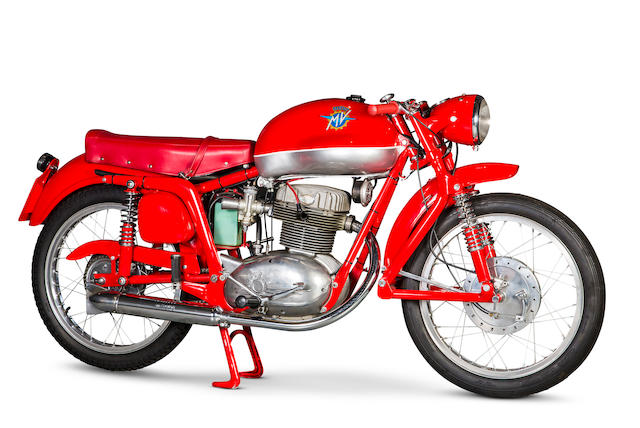 MV Agusta 175 cm3 CSS « Disco Volante » 1954  Frame no. 404596 Engine no. 470704 SS