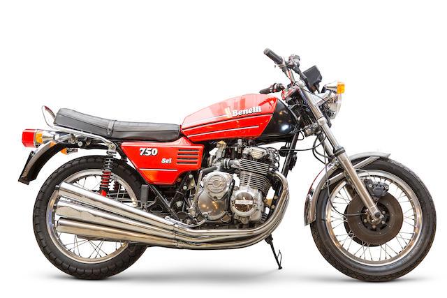 Benelli 750 cm3 Sei 1976  Frame no. BC 5864 Engine no. C 07279