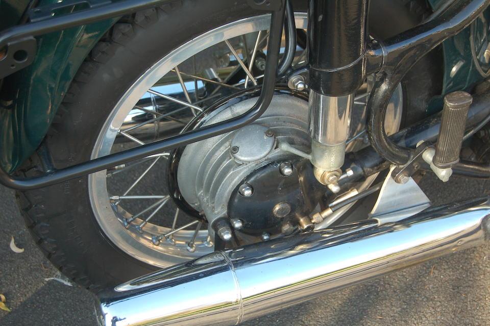 c.1952 Sunbeam-Porsche  990cc Special Frame no. S8-5250 Engine no. P-22034