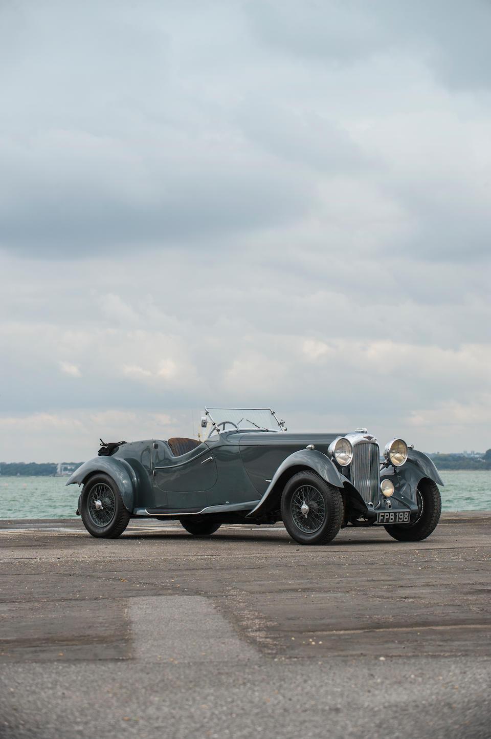 Single family ownership from new,1937 Lagonda 4½-Litre LG45 Rapide Tourer