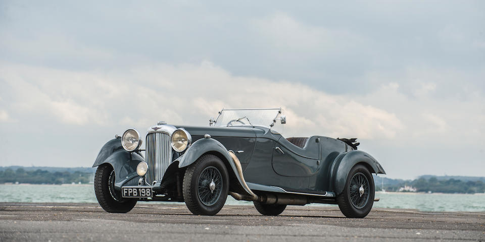 Single family ownership from new,1937 Lagonda 4½-Litre LG45 Rapide Tourer
