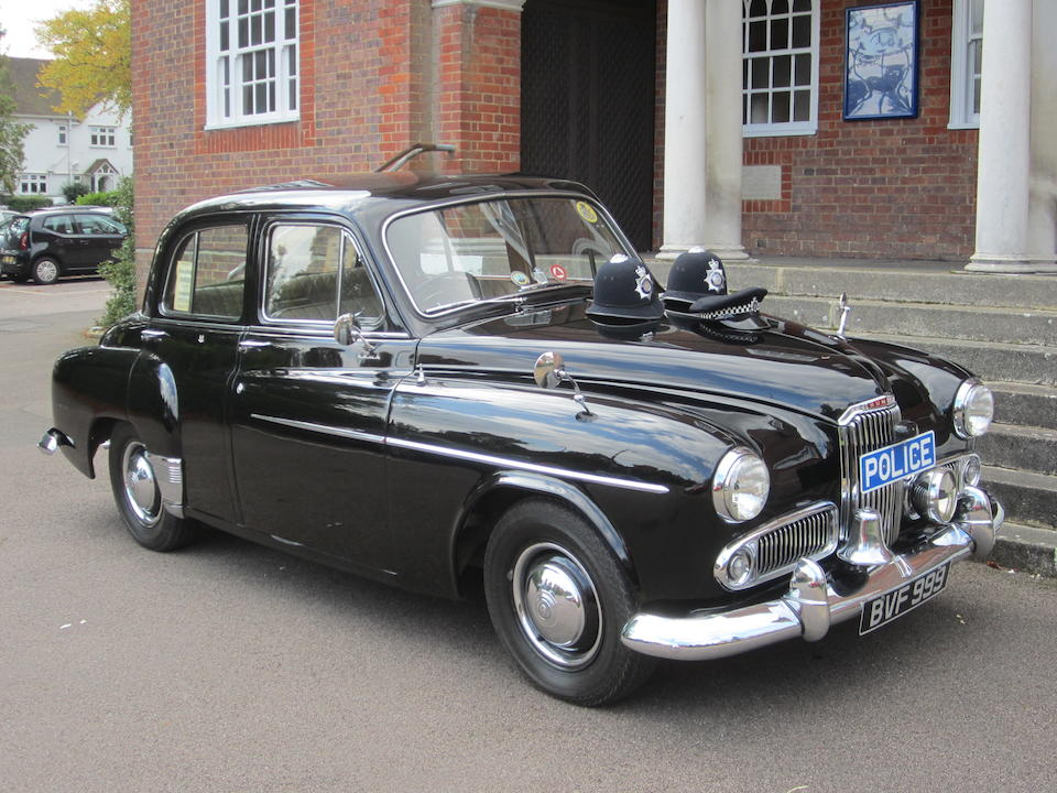 1957 Humber Hawk MkVIA Police Car  Chassis no. A5463345/OD/HSO Engine no. A5463345/OD/HSO