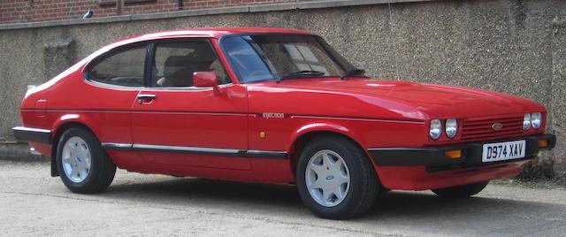1986 Ford Capri MkIII 2.8i Coupé  Chassis no. WFOCXXGAECGS34626 Engine no. GS34626