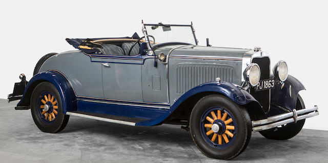 Property of a deceased's estate,c.1931/32 Dodge Eight Roadster Coupe  Chassis no. E142RW Engine no. 15884