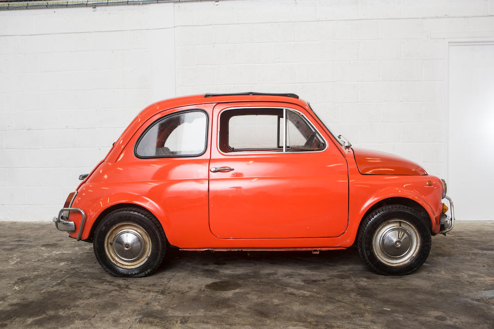 Property of a deceased's estate,c.1972 FIAT 500 Saloon  Chassis no. to be advised Engine no. to be advised