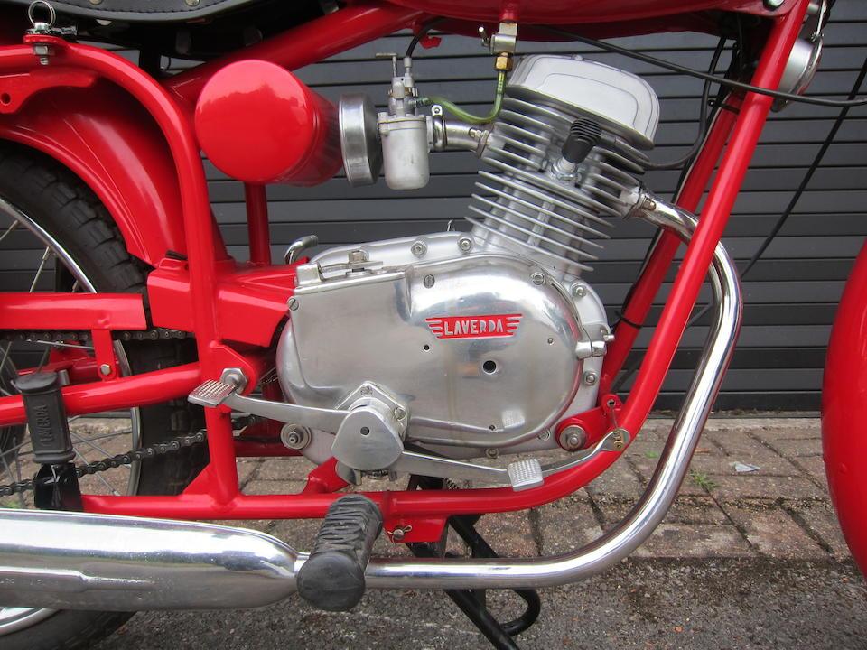 1959 Laverda 98cc Lusso Sport Frame no. 583606 Engine no. 583606