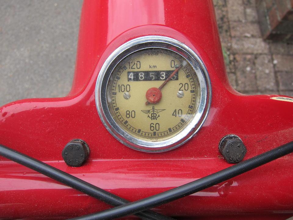 1951 Rumi 125cc Frame no. 12804 Engine no. 2XX12130