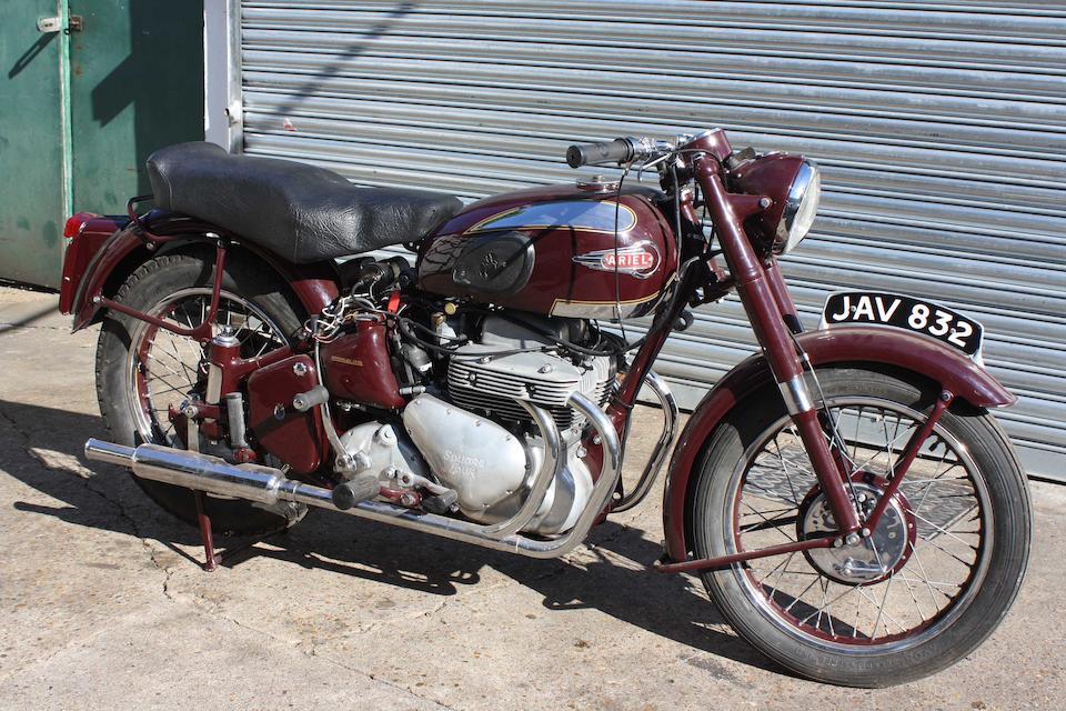 1953 Ariel 998cc Square Four Mark II Frame no. ES875 Engine no. XJ667