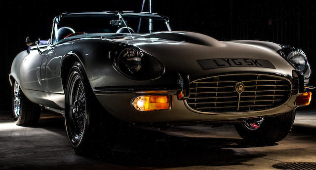 1971 Jaguar E-Type 4.2-Litre V8 Supercharged Roadster by Beacham  Chassis no. 1S50394 Engine no. 0212041221