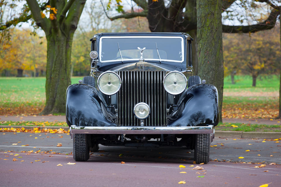 1935 Rolls-Royce Phantom II Continental Saloon  Chassis no. 36UK Engine no. SW35