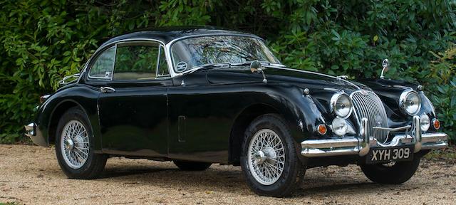 1959 Jaguar XK150 3.4-Litre Coupé  Chassis no. S825026DN Engine no. V7368-8
