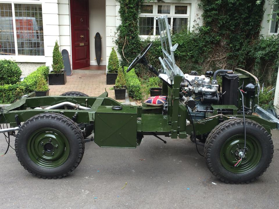 """1952 Land Rover 'Series I' 80"""" 4x4  Chassis no. 36100013 Engine no. 36100059"""