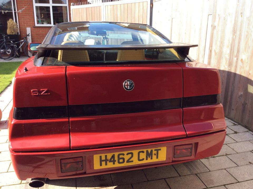 1993 Alfa Romeo SZ Coupé  Chassis no. ZAR16200003000058 Engine no. AR61501 000085